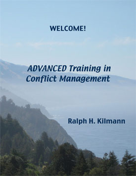 Advanced Training in Conflict Management