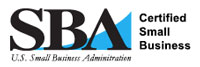 US Small Business Administration Certified Small Business